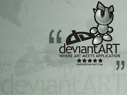 """DeviantArt"" talismanas ©Celso Junior"