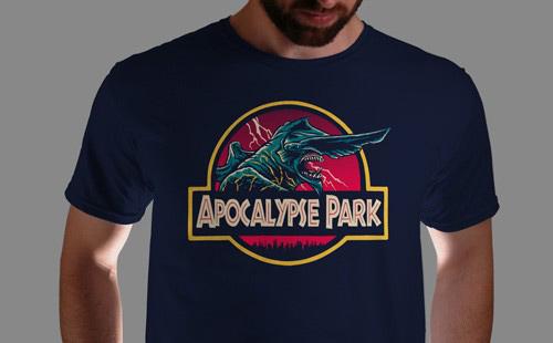 Qwertee - Apocalypse Park