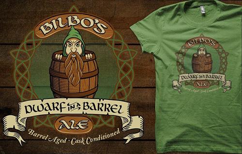 Qwertee.com - Bilbo's Ale