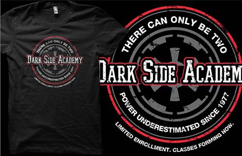 Qwertee.com - Dark Side Academy