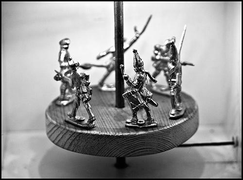 Alaviniai kareivėliai. Sako, nuo XIX a.