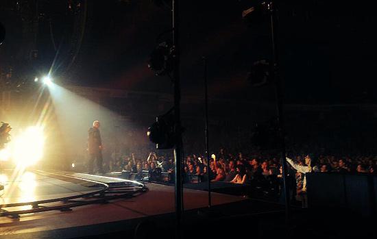 """Peter Gabriel Vilniuje. Nuotrauka iš jo paties """"Facebook"""" profilio."""